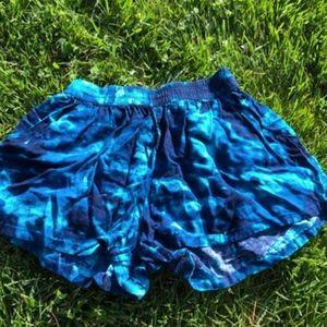 Tie Dye Flowy Comfy Shorts